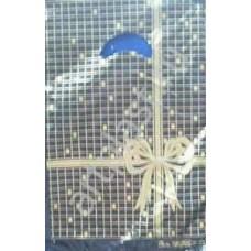"""Пакет с выруб. неус. руч. 21х35 (20) Мини ПНД """"черная клетка"""""""
