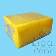"""Салфетка 1-сл 24*24 400л """"Almax"""" БигПак желтые"""