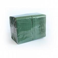 "Салфетка 1-сл 24*24 400л ""Almax"" БигПак зеленые"