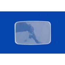Крышка к ведру 2л прозрачная прямоугольная 191*129 Энтерпак