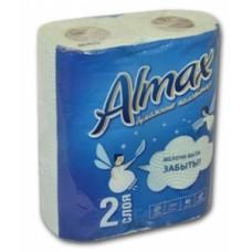 """Полотенца бумажные 2-сл. кухонные Almax """" цветн.рисунок"""