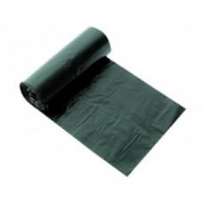 """Мешок для мусора 120л. ( 17мкм) 70*110см """"Консул Экономичные """"Без этикетки! черныйый"""