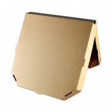 """Коробка картон """"Пицца"""" Ракушка 33*33 бурая """"без печати"""" Упак Групп"""