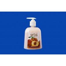 Крем-мыло жидкое 450мл. ВЕСТА Персик и ванильный йогурт Алва
