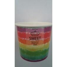 Чаша бумаж. 135 мл под мороженое Sweet 1800 шт. в кор без фасовки