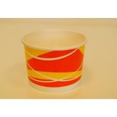"Чаша бумаж. 250мл Креманка . ""оранжевый"" 250 мл 700 шт"