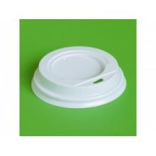 Крышка для Стакана ГОР. d=90 мм с питейником Атлас белая