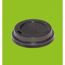 Крышка для Стакана ГОР. d=90 мм с питейником Атлас черная