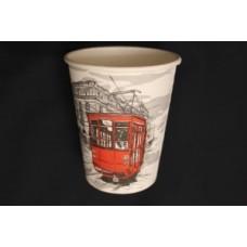 Стакан бумаж. 165 175мл (195мл)Big City Life для горячего напитка Паперскоп d=73мм