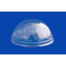 Крышка прозрачная купол pet без отверстия д. 95
