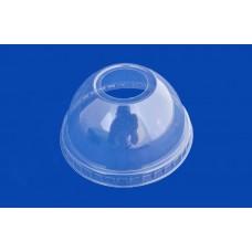 Крышка прозрачная купол pet с отверстием д. 95