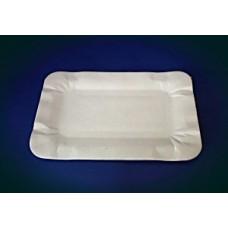 Тарелка картон 13х20 прямоугольный мелованная Т ПОС08965