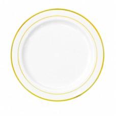 "Тарелка D=190мм PLMA ""Винтаж"" с каемочкой"