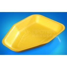 Лоток вспененный 225*160*35мм AV-20 желтый под тушку курицы
