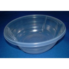 """Тарелка суповая ПП D=160 (500мл) """"ИНТЕКО-Алит пласт"""" прозрачная"""