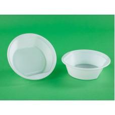 """Тарелка суповая ПП D=160 (500мл) """"ПластИдустрия"""" белая"""