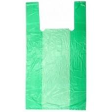 "Пакет типа ""Майка"" 23*43см (2,5г) (АХ эконом) Зеленая"