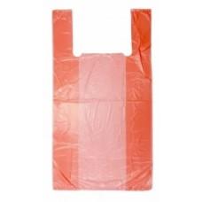 """Пакет типа """"Майка"""" 23*43см (2,5г) (АХ эконом) оранжевыйевая"""
