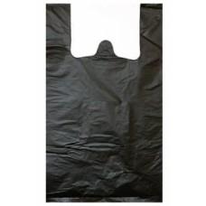 """Пакет типа """"Майка"""" 23*43см (2,5г) (АХ эконом) черная"""